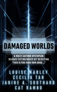 Damaged Worlds - Louise Marley, Cat Rambo, Janine A. Southard, Cecilia Tan