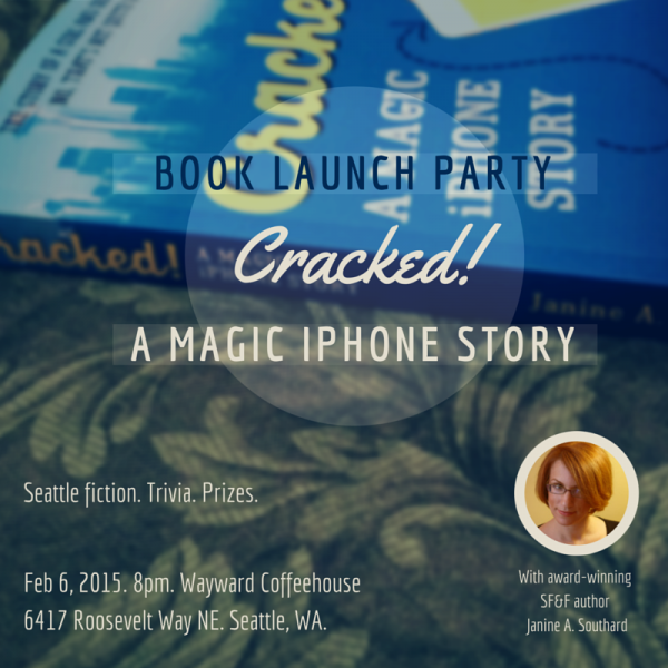Book Launch Party: Cracked! A Magic iPhone Story